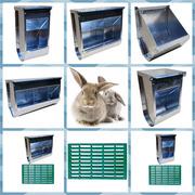 Годівниці багатосекційні для кролів з оцинкованої сталі