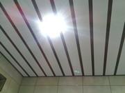 Монтаж алюминиевых потолков